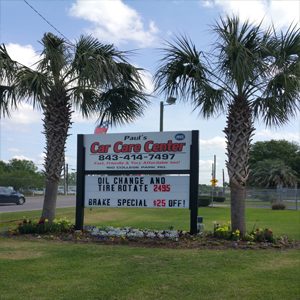 Paul's Car Care Center Ladson, SC 29456
